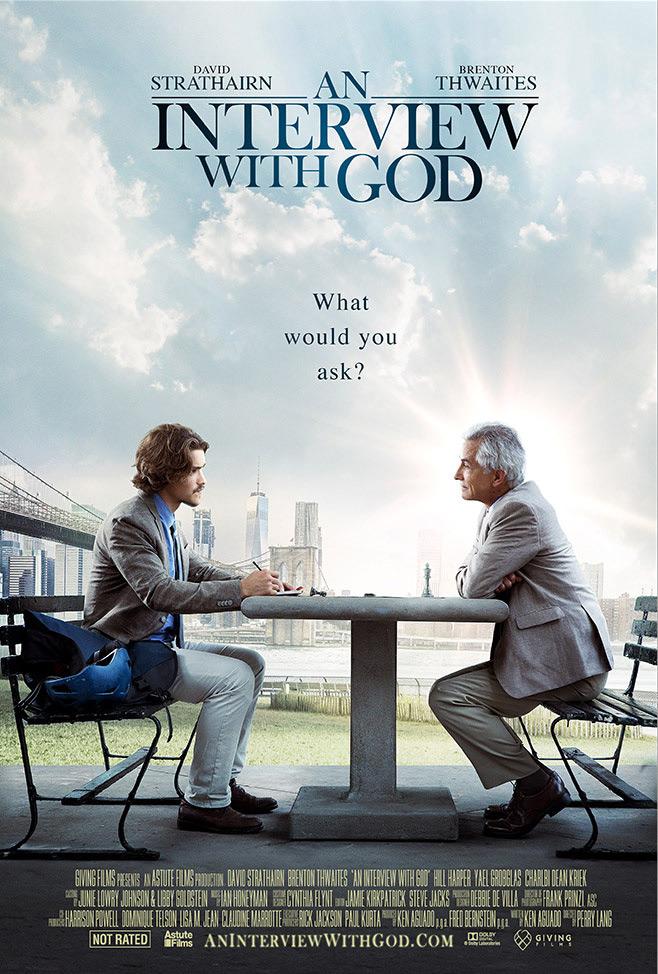 """Постер фильма """"Интервью с Богом"""""""
