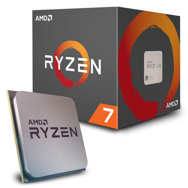 Процессор AMD Ryzen 7 2700X