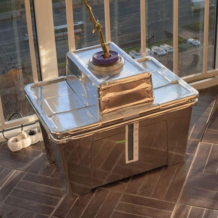 DIY-контейнер для огурцов