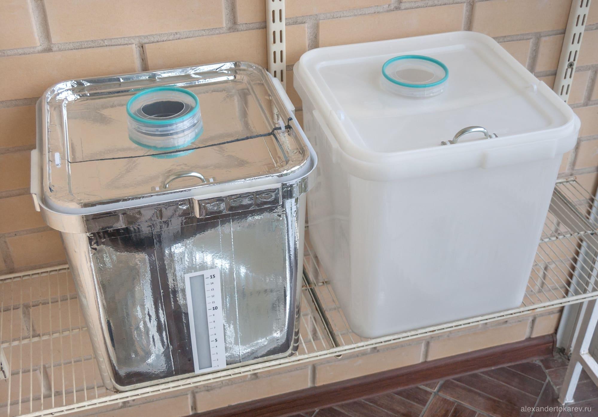 Гидропонные контейнеры DIY
