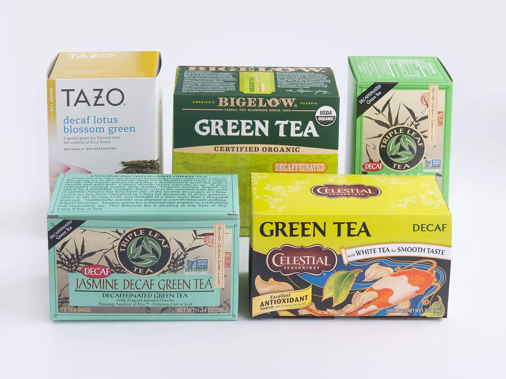 Бескофеиновый зелёный чай