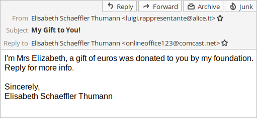 Elisabeth Schaeffler Thumann scam