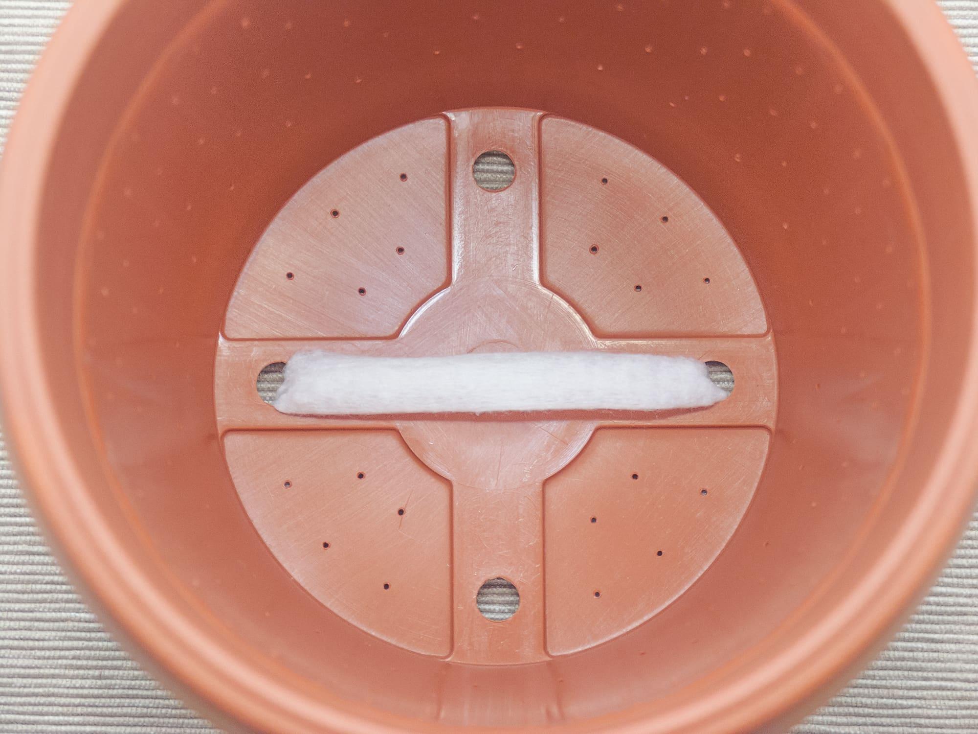 Фитиль для подачи воды
