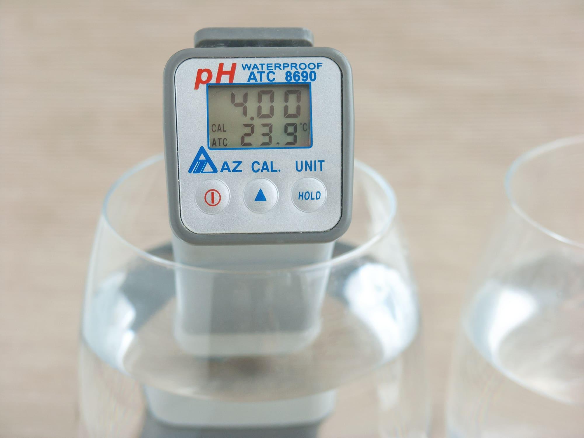pH-калибровка