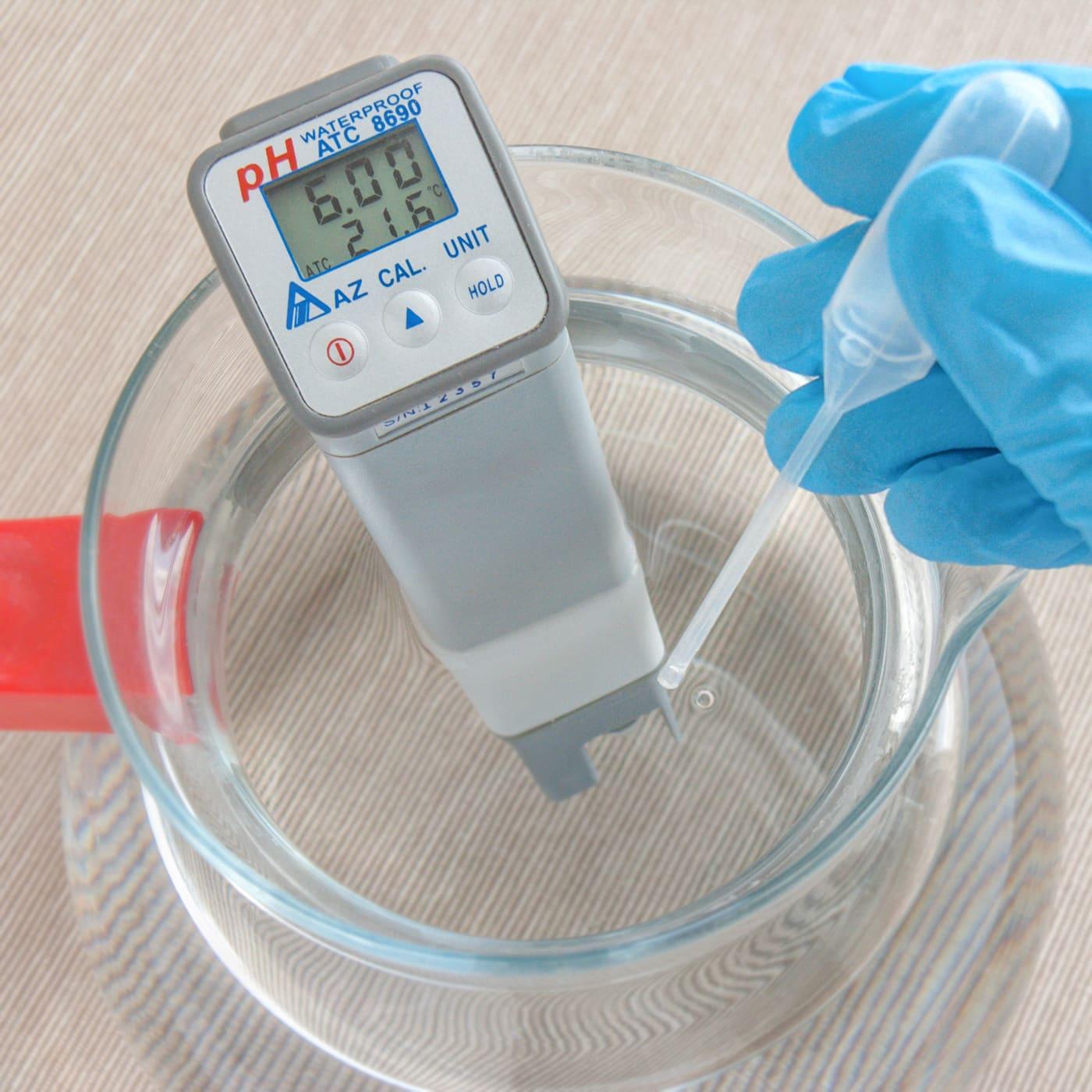 измерение pH