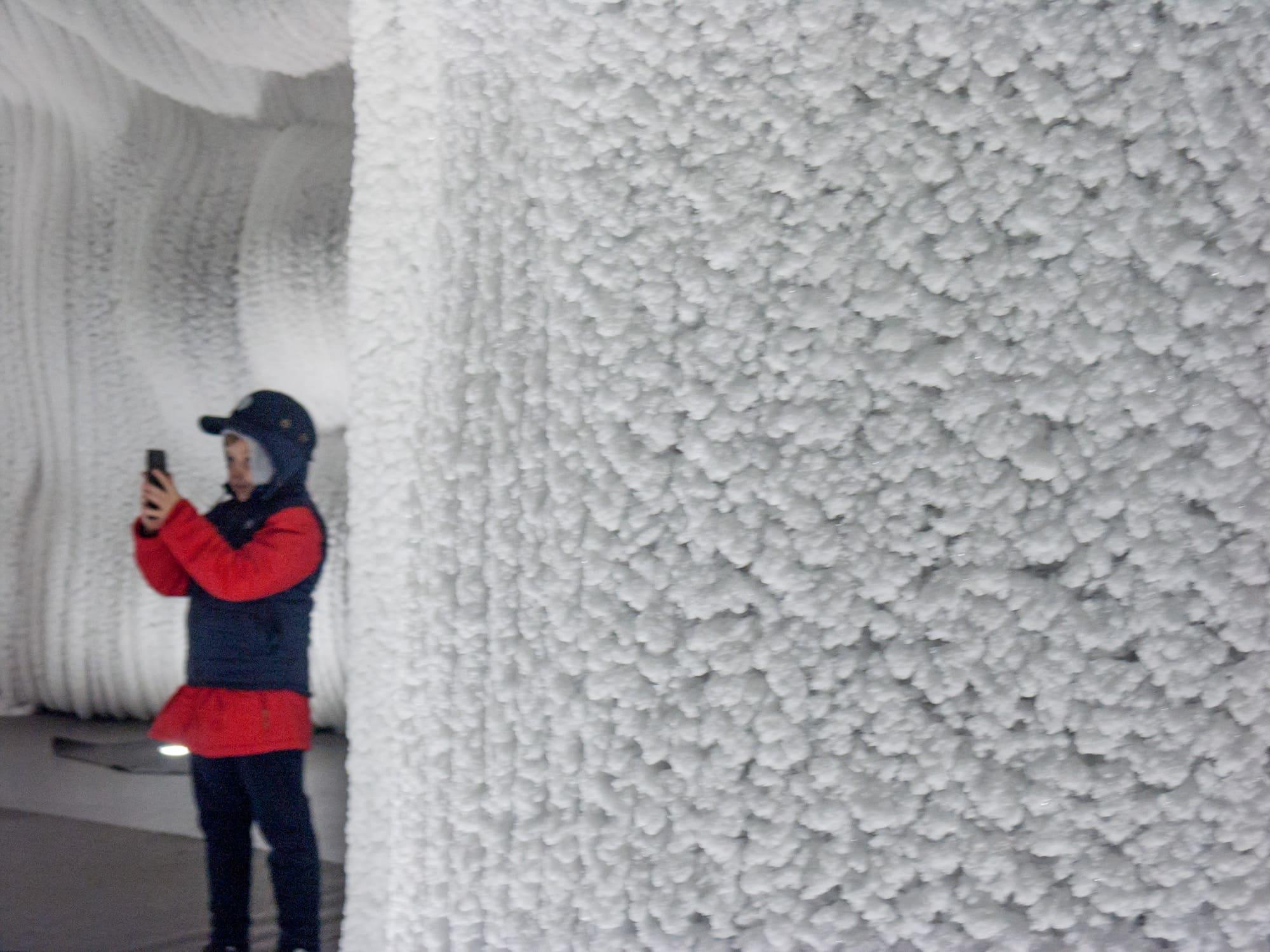 "Ледяная пещера (парк ""Зарядье"", Москва)"