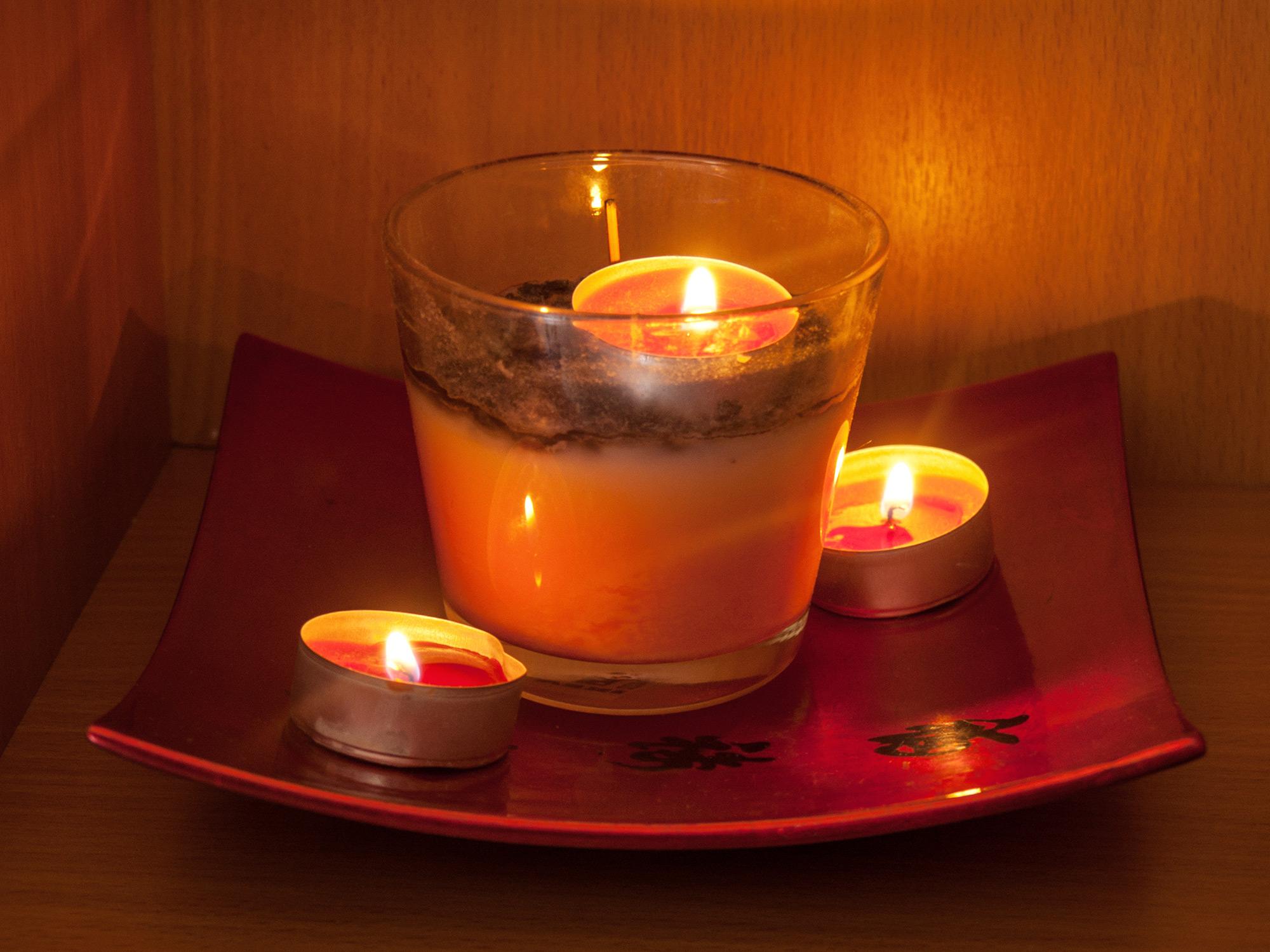 Медитация свеча