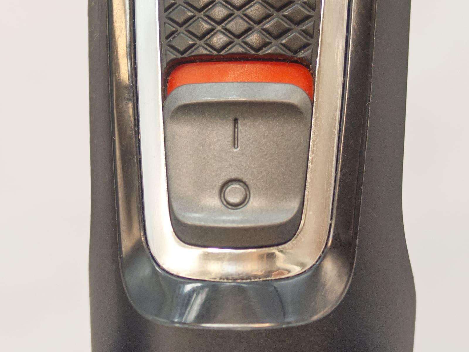 Триммер Philips кнопка