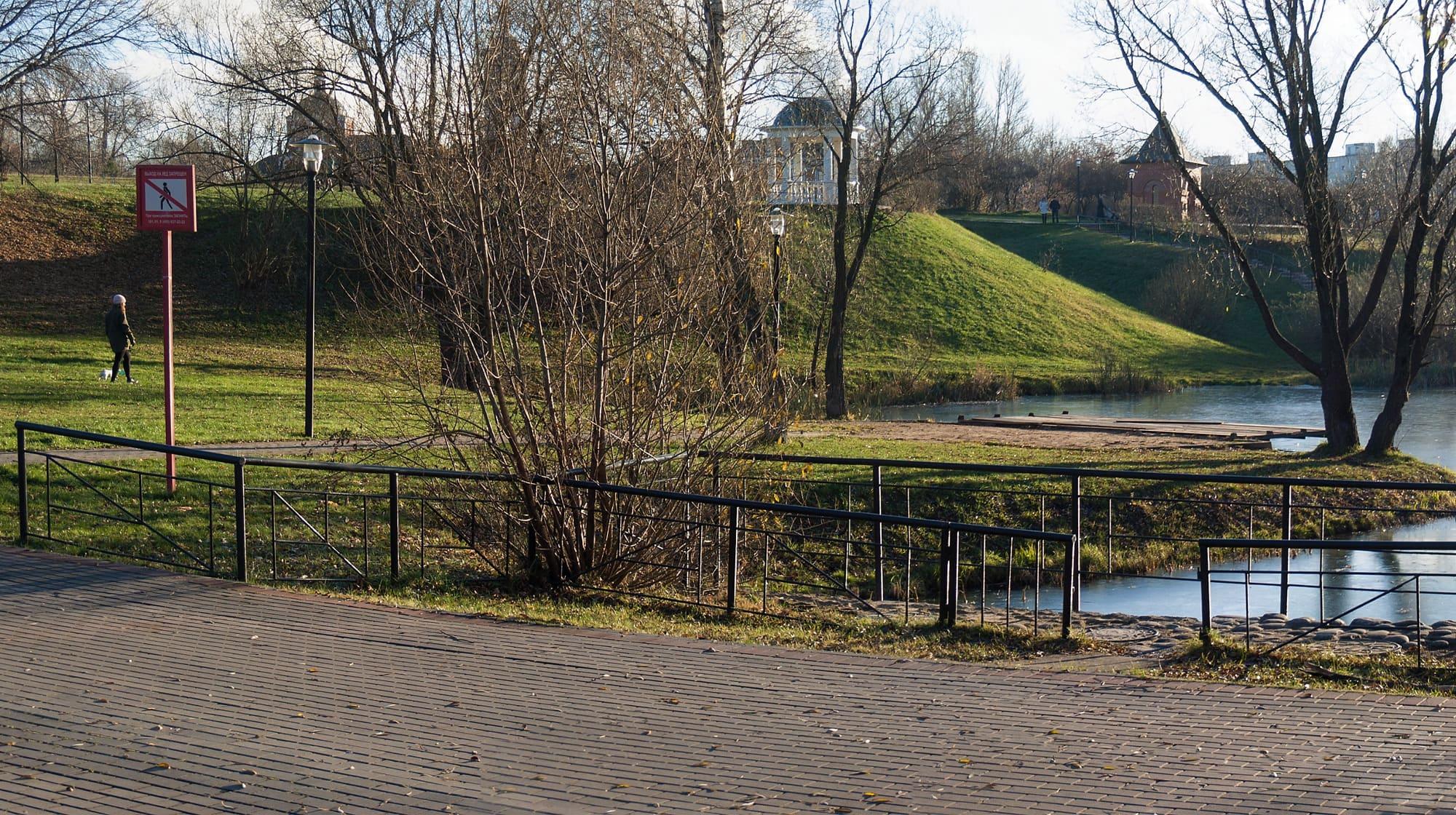 Панорама Покровского парка в Москве