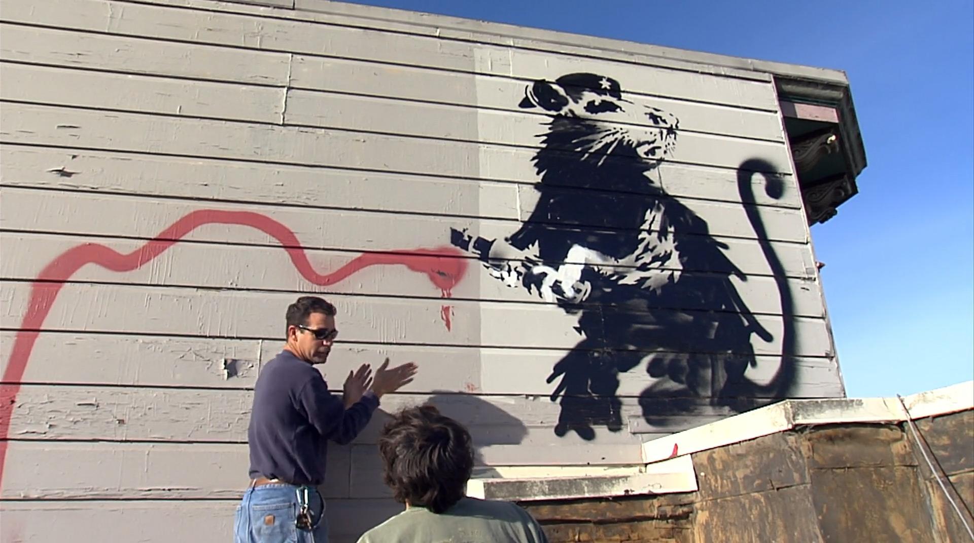 Обсуждение демонтажа граффити