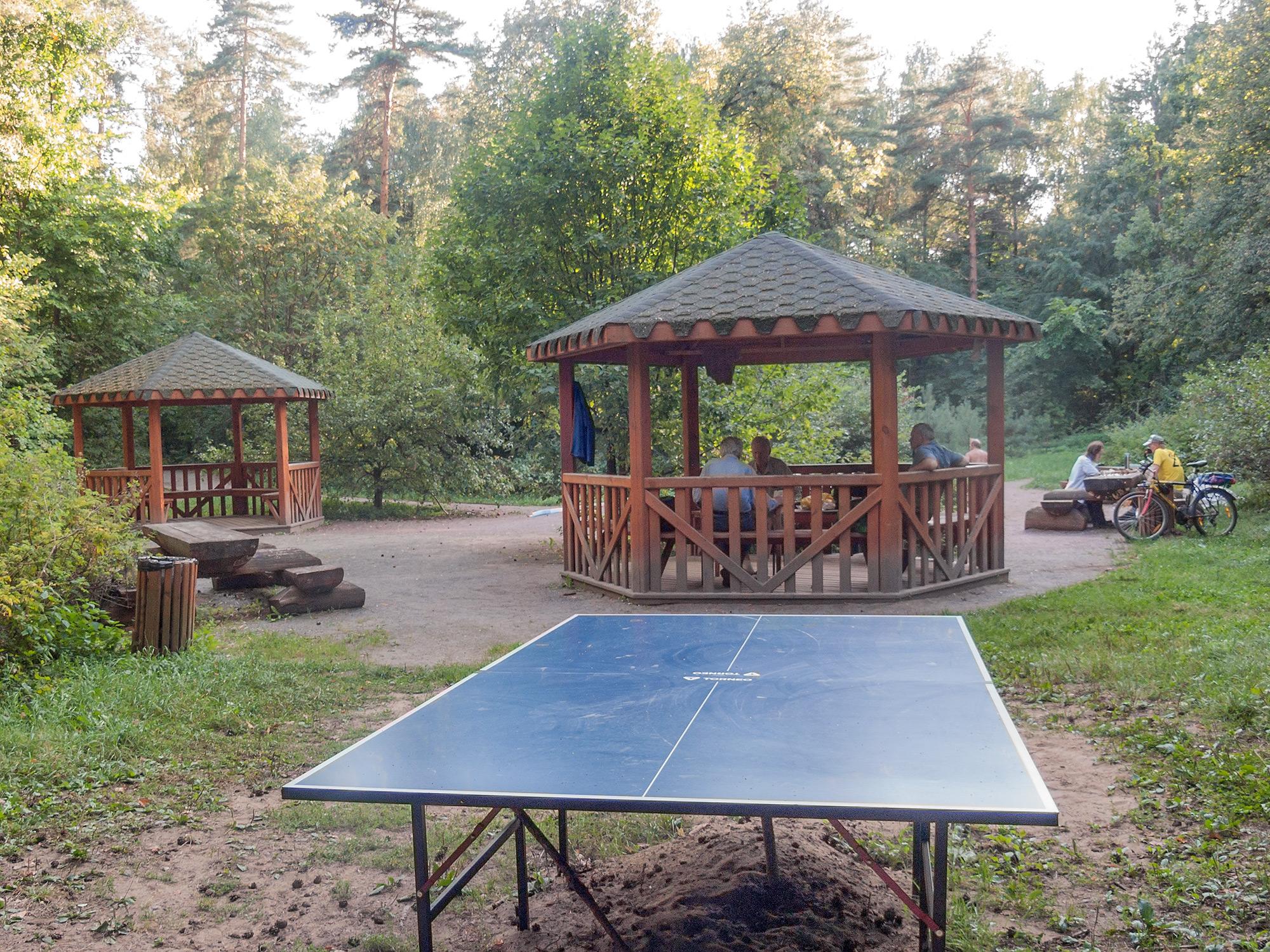 Столики для пинг-понга в Серебряном Бору