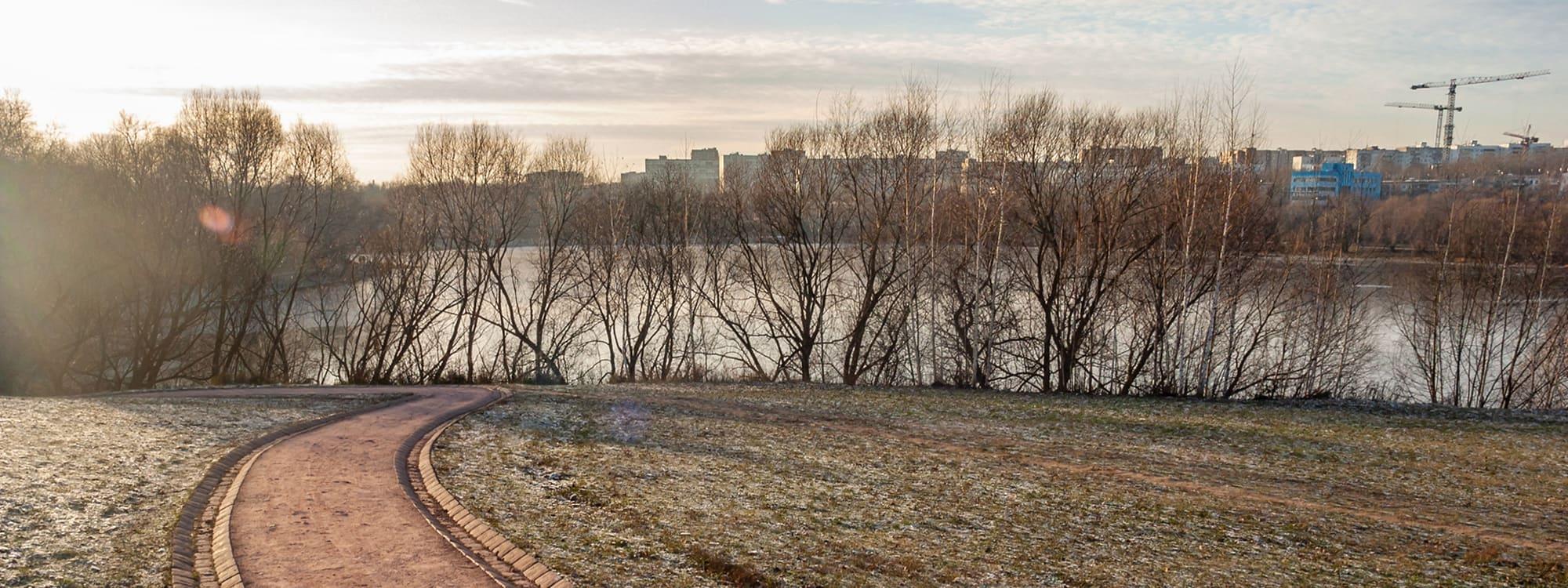 Нижний Царицынский пруд. Дорожки